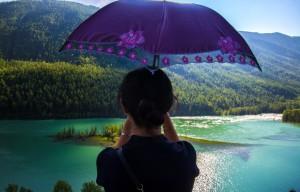 Le dragon violet / Xinjiang, 2013